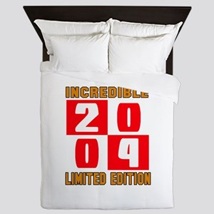 Incredible 2004 Limited Edition Queen Duvet