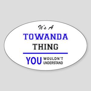 TOWANDA thing, you wouldn't understand! Sticker