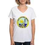 USS Stembel (DD 644) Women's V-Neck T-Shirt