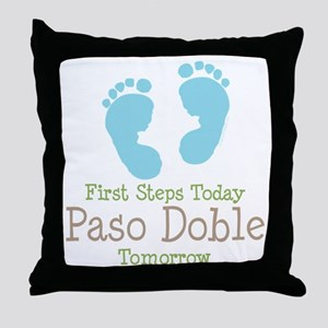 Paso Doble Ballroom Dancing Throw Pillow
