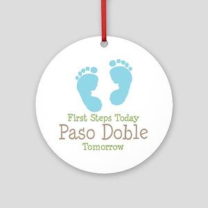 Paso Doble Ballroom Dancing Ornament (Round)