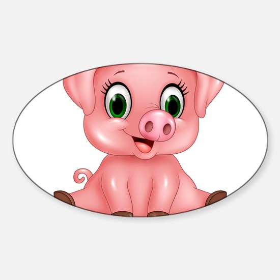 Piggie Decal
