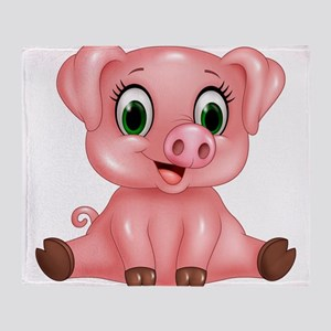 Piggie Throw Blanket