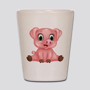Piggie Shot Glass