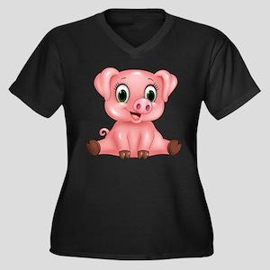 Piggie Plus Size T-Shirt