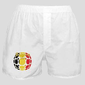 Belgium 2018 World Cup Boxer Shorts
