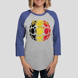 Belgium 2018 World Cup Long Sleeve T-Shirt