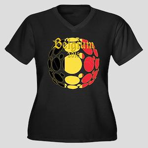 Belgium 2018 World Cup Plus Size T-Shirt
