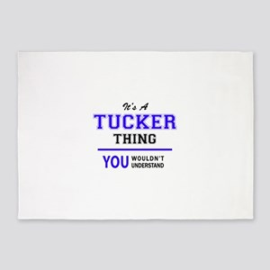 TUCKER thing, you wouldn't understa 5'x7'Area Rug