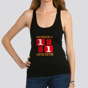 Incredible 1991 Limited Edition Racerback Tank Top