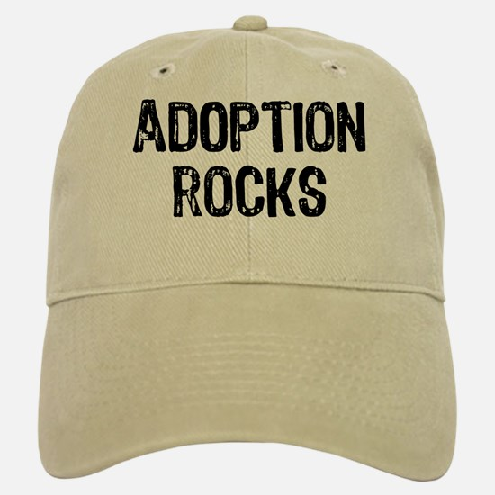 Adoption Rocks Baseball Baseball Cap