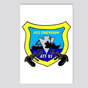 USS Chickasaw (ATF 83) Postcards (Package of 8)