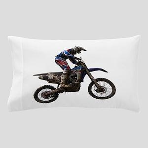 Motocross jump Pillow Case