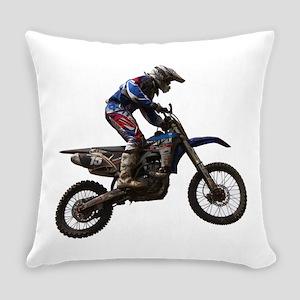 Motocross jump Everyday Pillow