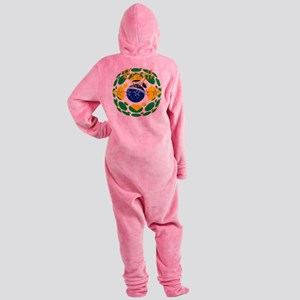 Brazil 2018 World Cup Footed Pajamas