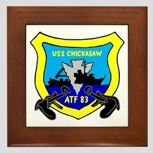 USS Chickasaw (ATF 83) Framed Tile