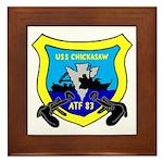 USS Chickasaw (ATF 83) Framed Tile