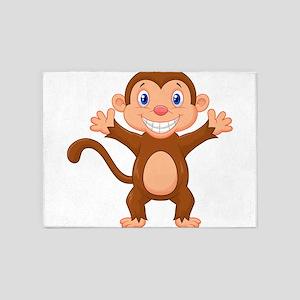Monkeying around 5'x7'Area Rug