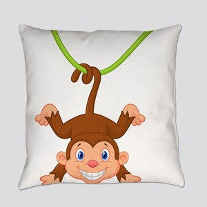Monkeying around Everyday Pillow