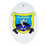 USS Chickasaw (ATF 83) Oval Ornament