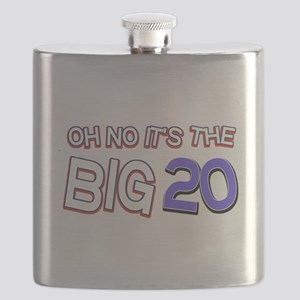 Oh No It Is The Big 20 Flask