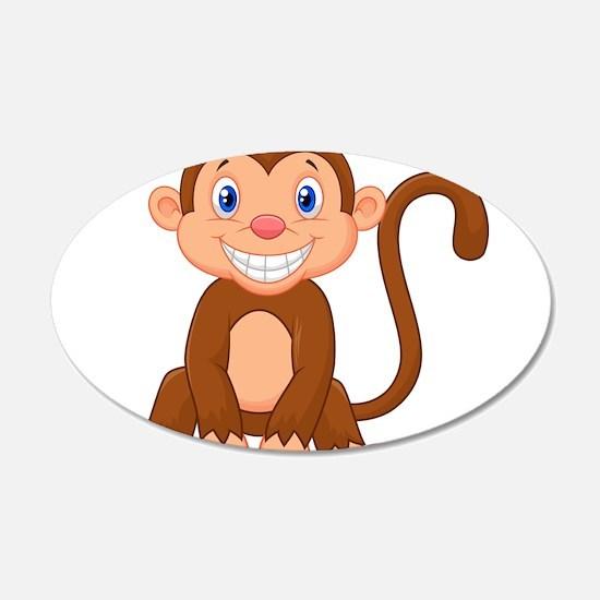 Monkeying around Wall Sticker