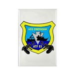 USS Chickasaw (ATF 83) Rectangle Magnet (10 pack)