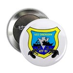 """USS Chickasaw (ATF 83) 2.25"""" Button (10 pack)"""