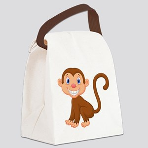 Monkeying around Canvas Lunch Bag