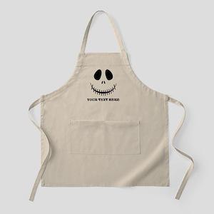 Custom Halloween Skeleton Apron