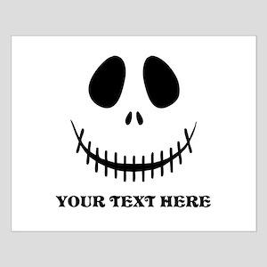 Custom Halloween Skeleton Small Poster