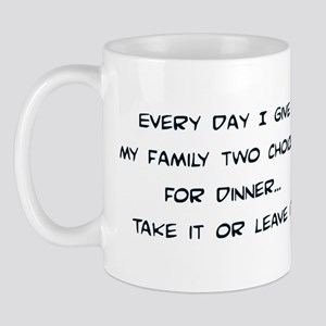 Two Choices Mug