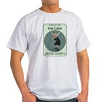 Sister Randy's Baseball Card Ash Grey T-Shirt