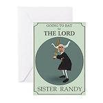 Sister Randy's Baseball Card Greeting Cards (Packa