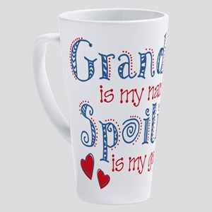 Spoiling Grandma 17 Oz Latte Mug