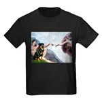 Creation/Rottweiler Kids Dark T-Shirt