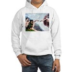 Creation/Rottweiler Hooded Sweatshirt