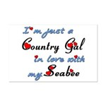 Country Gal Seabee Love Mini Poster Print