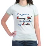 Country Gal Seabee Love Jr. Ringer T-Shirt