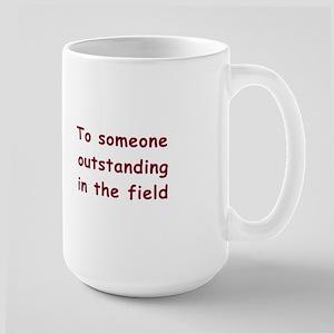 """To Someone Outstanding"" Cow Mug"