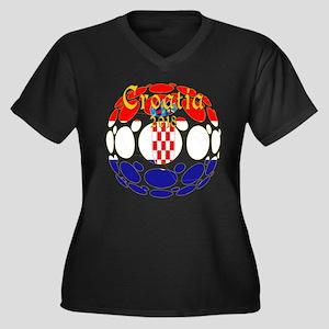 Croatia 2018 World Cup Plus Size T-Shirt
