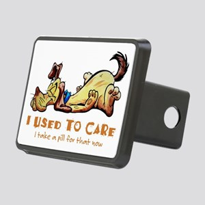 I Used to Care Rectangular Hitch Cover