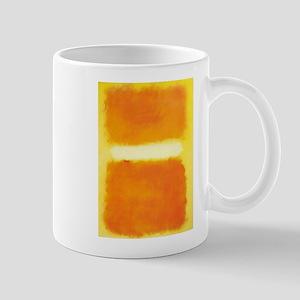 ROTHKO ORANGE AND WHITE LIGHT Mugs