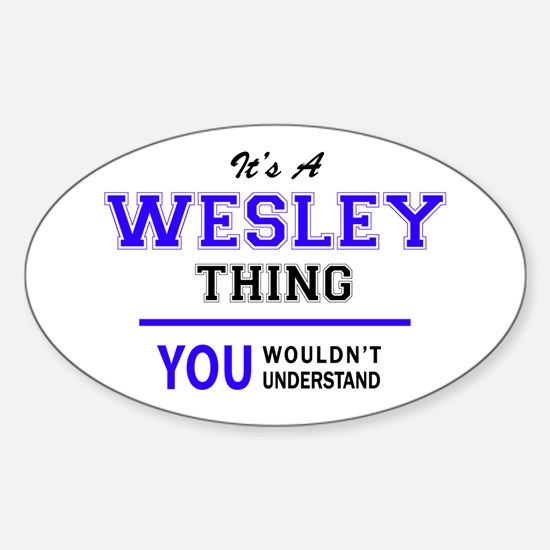 WESLEY thing, you wouldn't understand! Decal