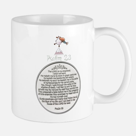PSALM 23 - THE LORD IS MY SHEPHERD! Mugs