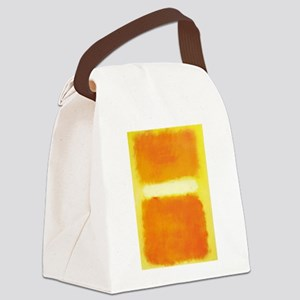 ROTHKO ORANGE AND WHITE LIGHT Canvas Lunch Bag