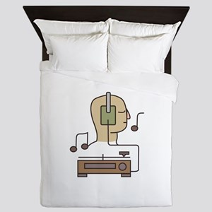 Sound System Queen Duvet