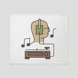 Sound System Throw Blanket