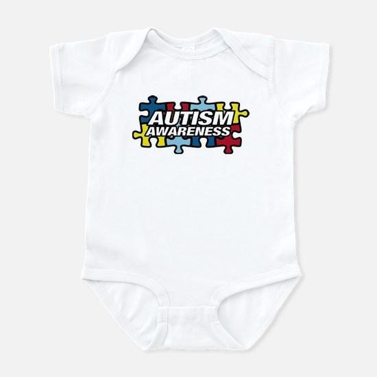 autism-puzzle Body Suit