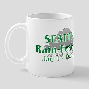 Seattle Rain Festival Mug